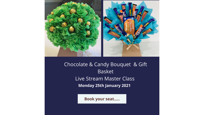 Chocolate & Candy Bouquet Master Class