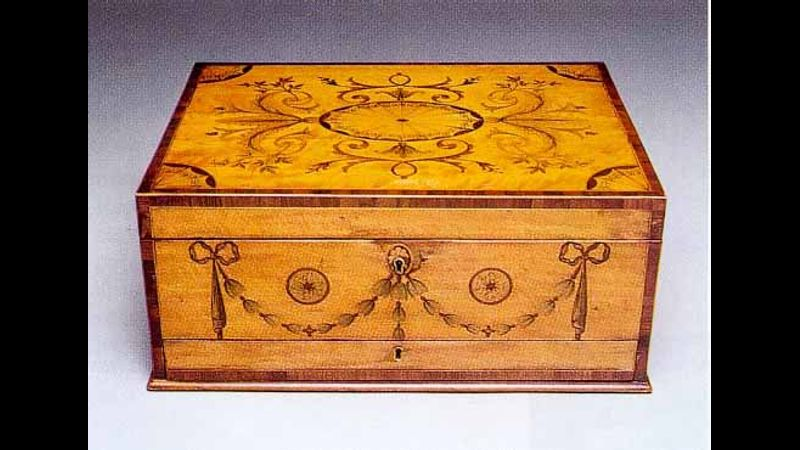Marquetry box