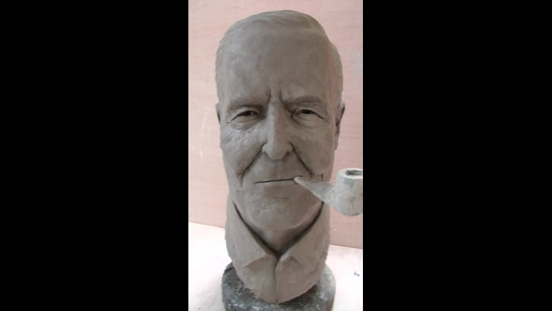 Bust of Rt Hon Tony Benn