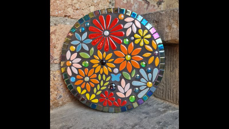 Floral Garden Mosaic Workshop