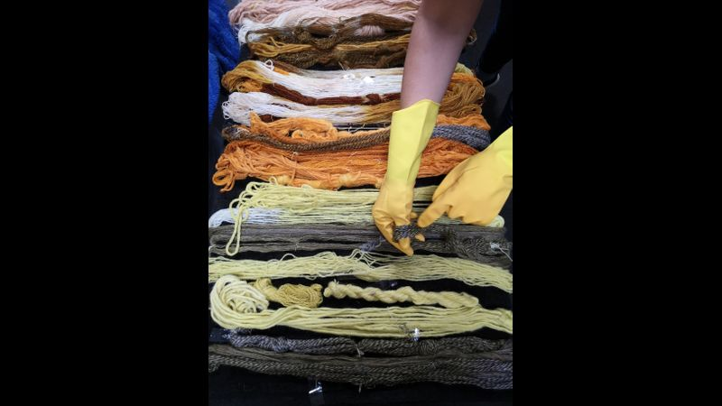 Natural Yarn Dyeing
