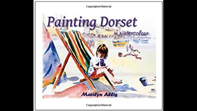 Painting Dorset in watercolour book