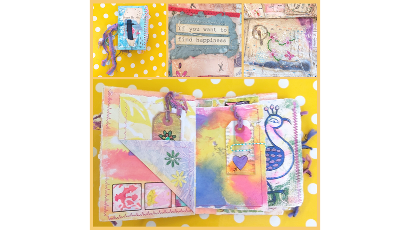 Intuitive art journaling for beginners - no experience needed