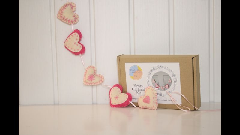 Heart Garland Kit