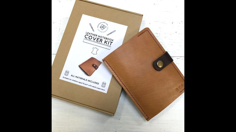Leather Notebook cover kit