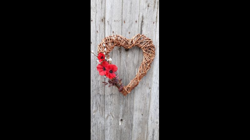 Willow heart wreath making kit - everything you need!