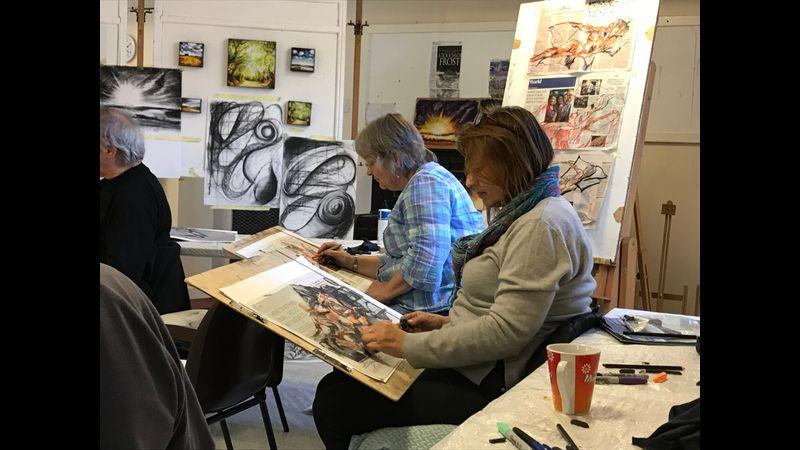 Life drawing class 2018