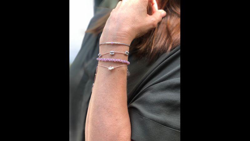 Beaded Bracelet Kit - Silver - Bergin & Bath