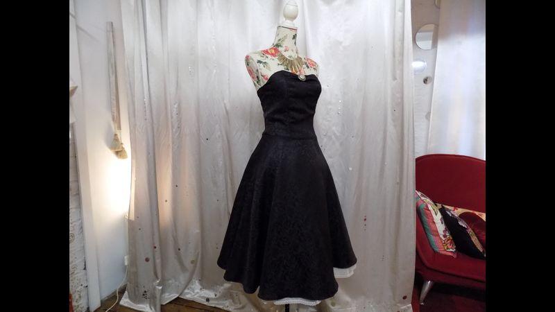50's prom dress sample