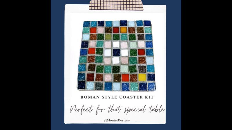 Roman Style Mosaic Coaster