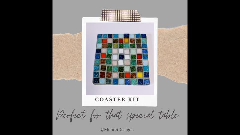 Roman Mosaic Coaster Kit