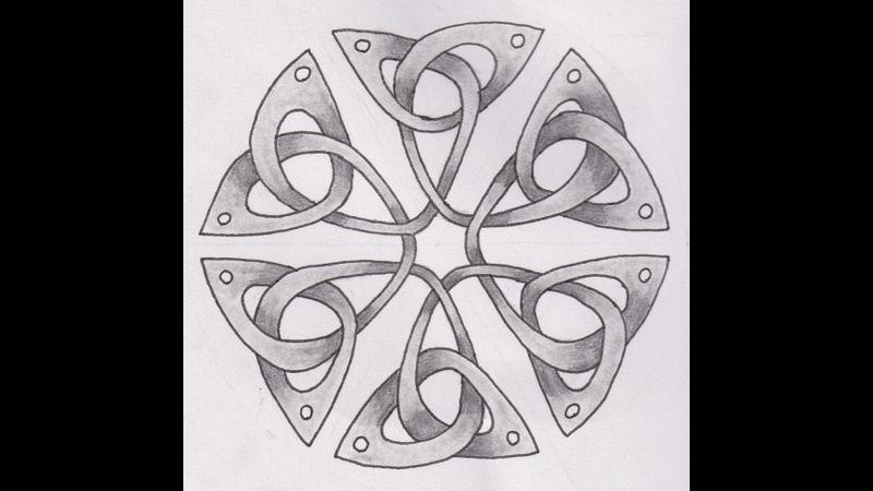 Hexagonal Triquetra