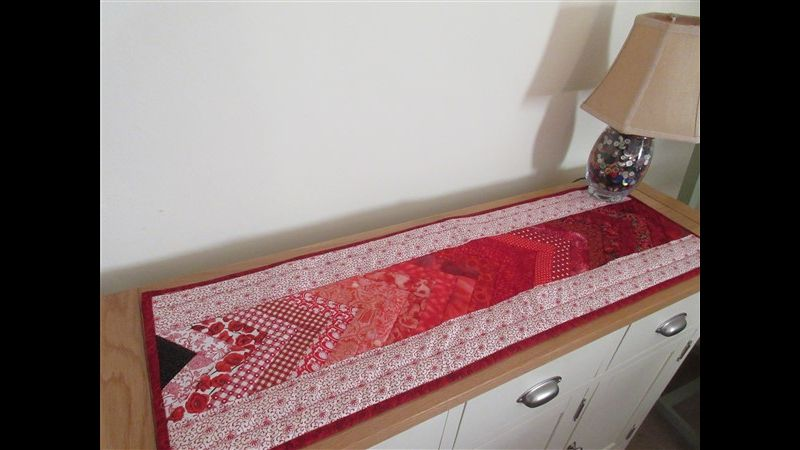 Quilted Braid Runner