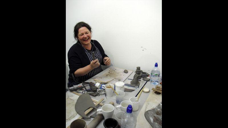 Having fun with ceramics!