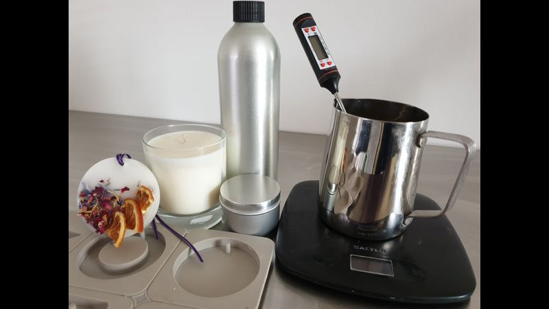 Candle making equipment