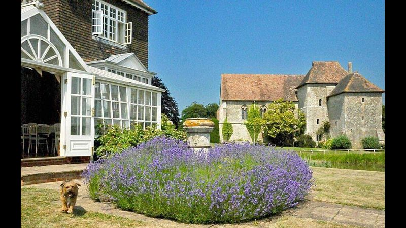 The stunning Edwardian Manor House and 13th century Priory