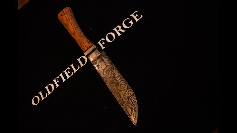 Damascus / pattern welded knife making