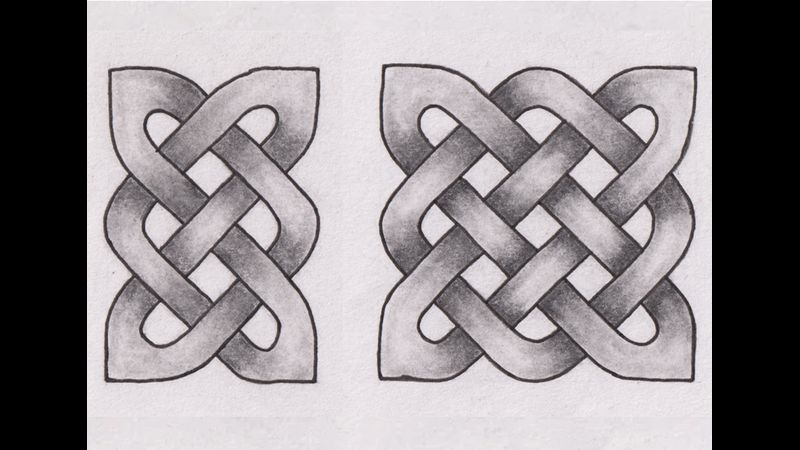 Celtic Knot Drawing for Beginners