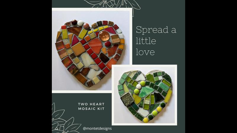 Love Heart Mosaics