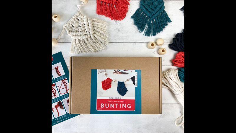 Macramé Bunting Kit - Bergin & Bath