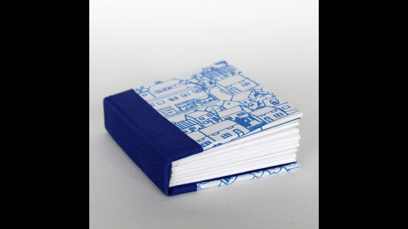 houses mini notebook