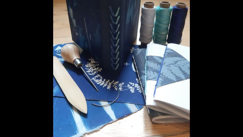 Cyanotype & Bookbinding