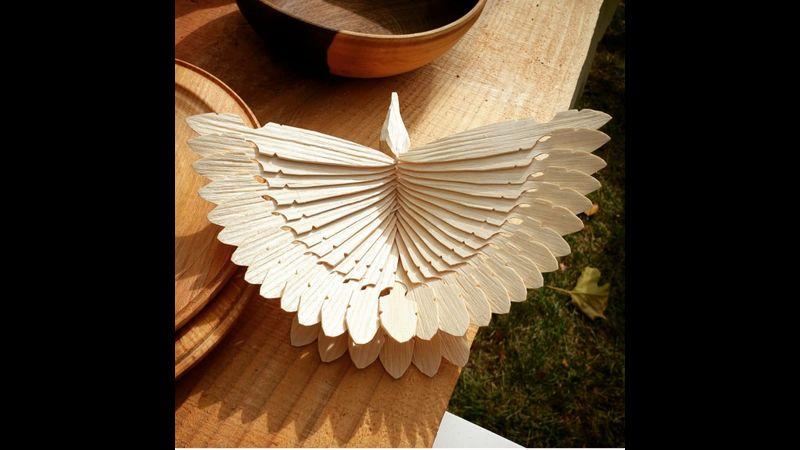 Fan Bird by Olly Moses
