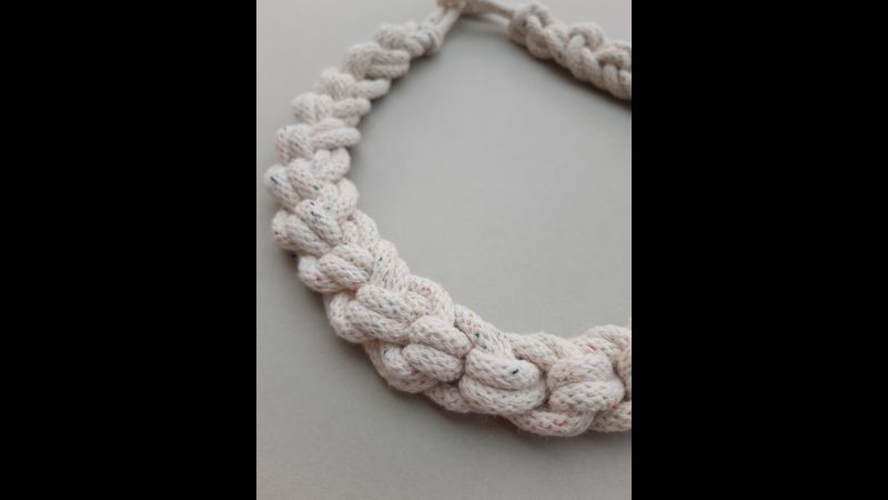 Macrame Loopy Necklace Tutorial