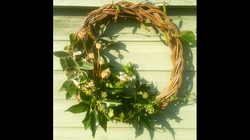 Plaited Willow Wreath