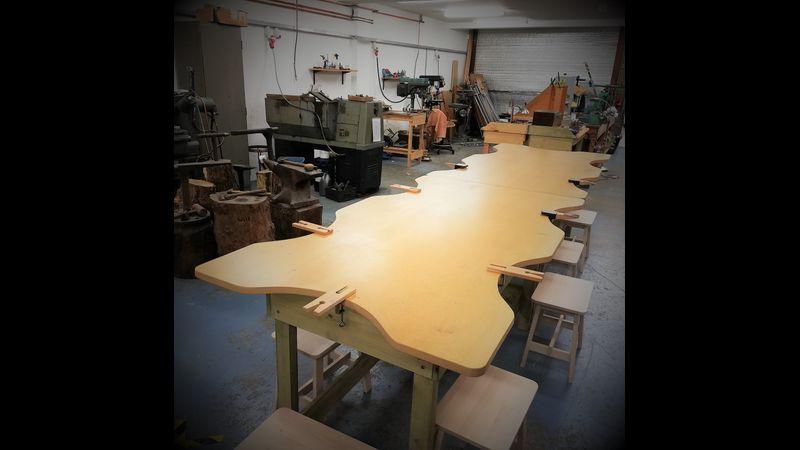 Large airy workshop