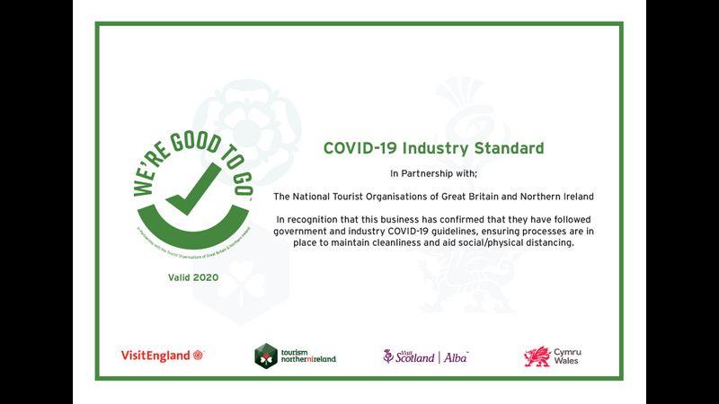 Covid-19 secure certificate