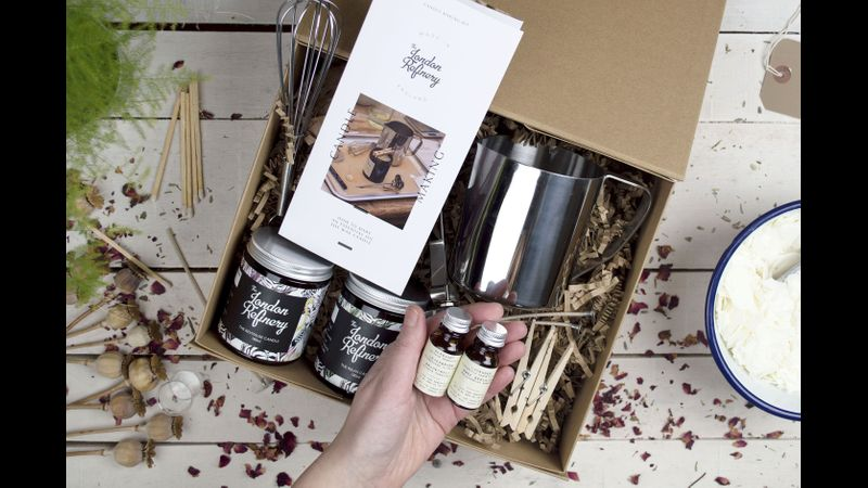 Large candle making kit for two