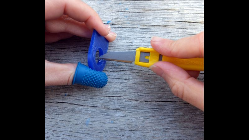 Carving your ring wax to fit you