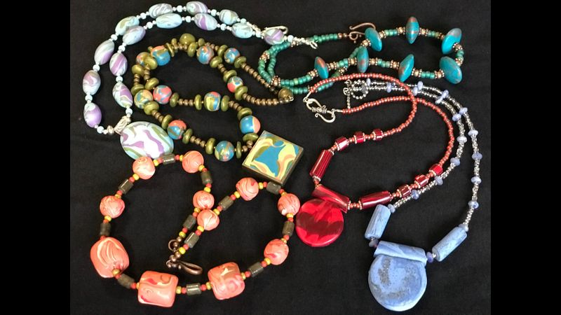 Some jewellery palettes