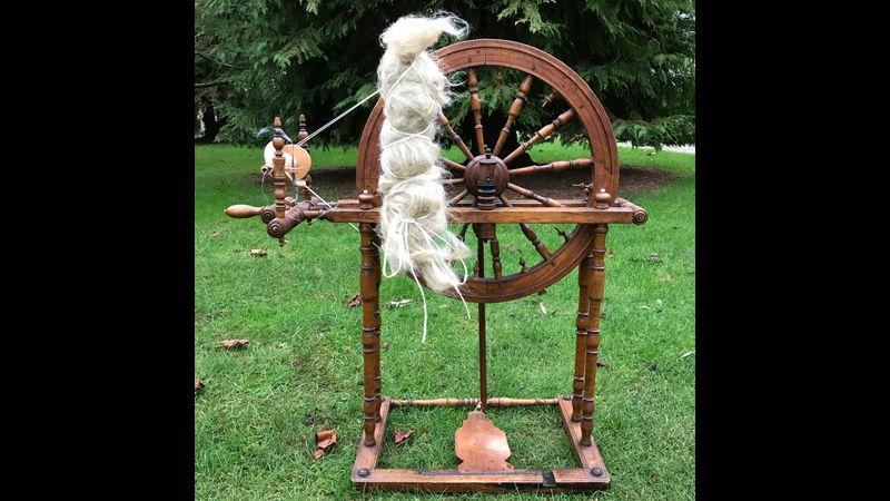 Swedish flax wheel