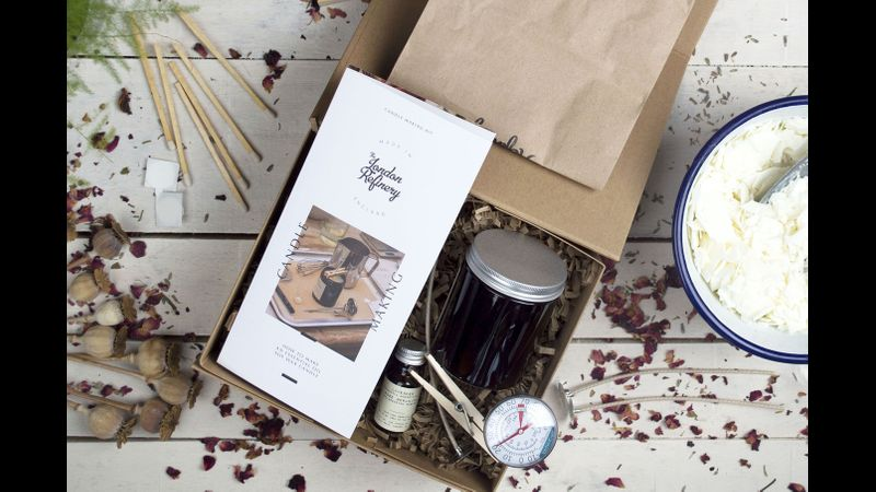 Candle making kit and guide