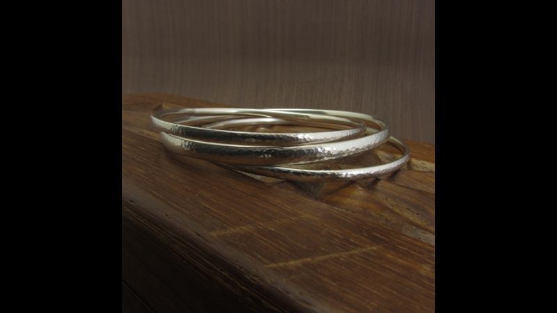 Make your own silver bangle with Joanne Tinley Jewellery, jewellery making in Hampshire