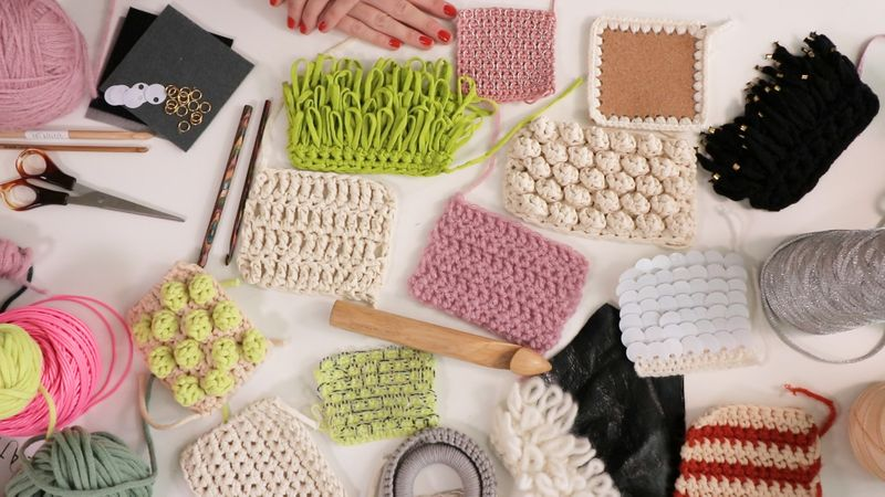 Crochet Masterclass samples
