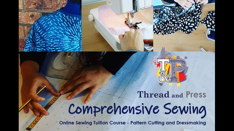 Comprehensive Sewing Dressmaking Pattern Cutting