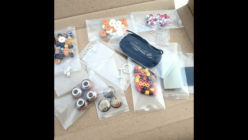Materials for Necklace Kit