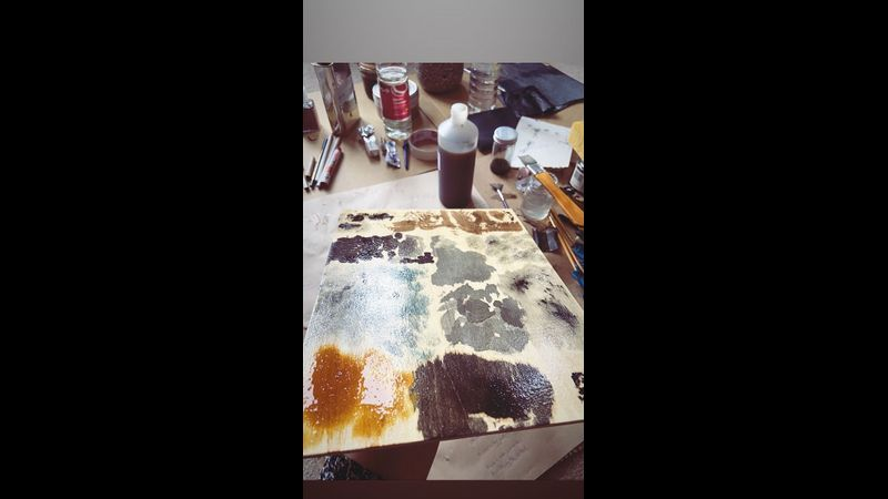 Mokulito test plate drying