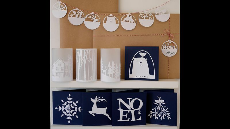 Festive Template Pack - All Cards, Lanterns and Gift Tag Designs