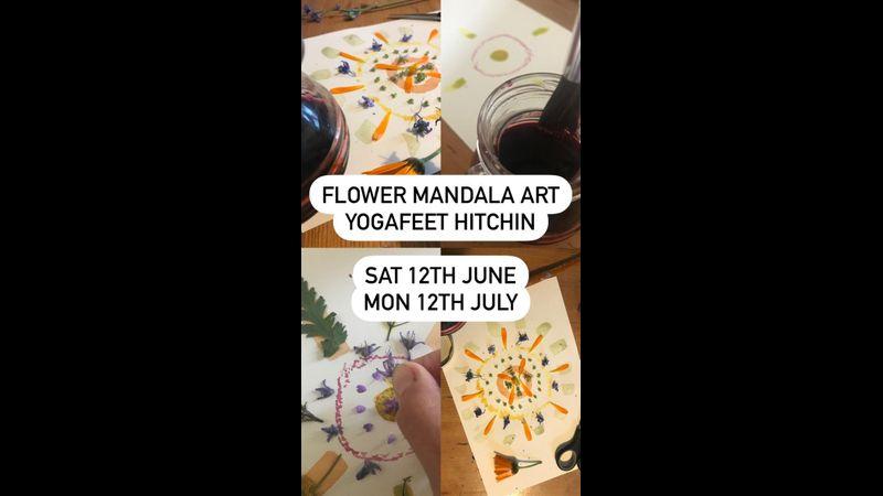 Flower Mandala Art