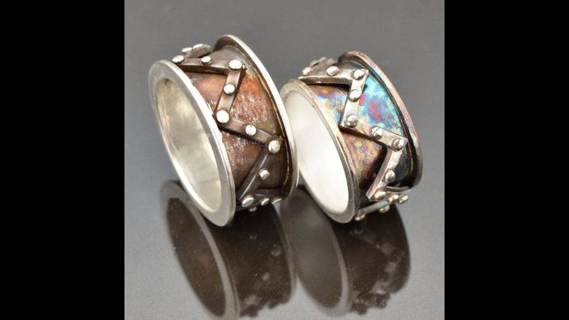 Spinner Rings by Tracey Spurgin of Craftworx Jewellery Workshops