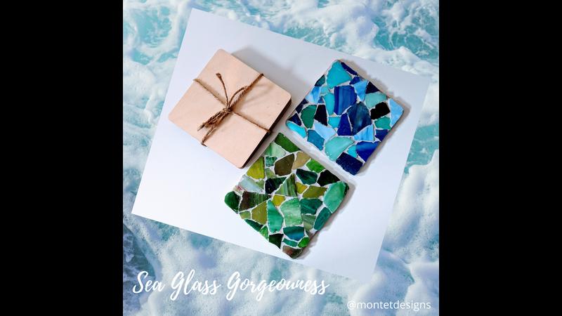 Seaglass Coasters