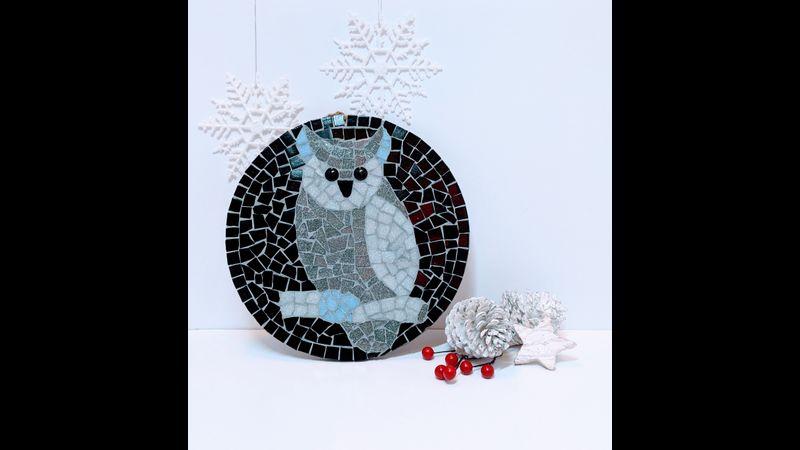 Grey Owl Mosaic Kit