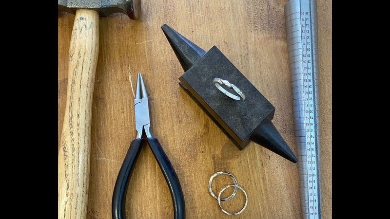 Jewellery Making at Frensham Old Barn workshop