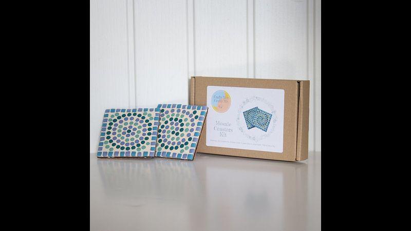 Blue coaster kit