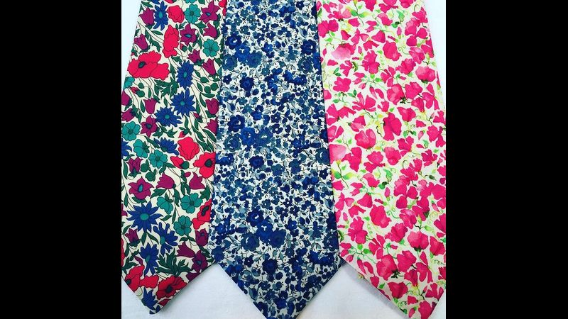 Examples of Tana Lawn Ties