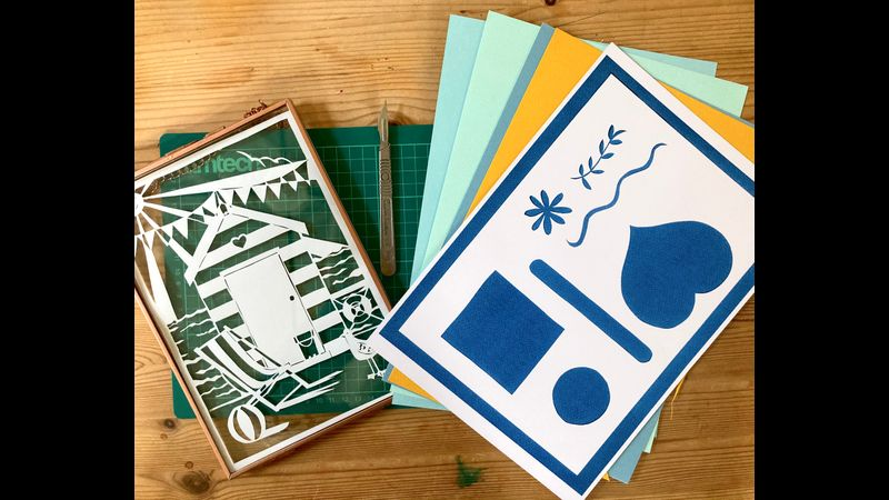 paper cutting kit (frames available at additional cost)